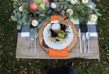 Tablescapes and Serveware. / Everything you need to create a beautiful display for your culinary feast. From table etiquette to beautiful serve ware you are sure to have the best look table for any get-together.