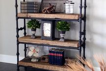 Baby room shelves