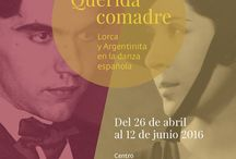 Exposición Querida comadre. Lorca y Argentinita en la danza española