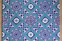 islâmî desen çini kundekari