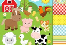 fiesta animales de la granja