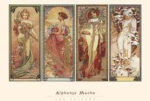 I <3 Mucha / Alphonse Mucha Art