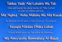 Coran et Hadiths