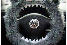 Capa de Volante Monstro / www.queroqueropresentes.com.br
