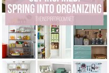 Get Organized! / Inspiration for storage and organization around the house