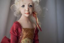 Handmade OOAK Art dolls by Romantic Wonders. / More information www.facebook.com/rwdolls
