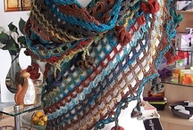Gehaakte sjaals etc / by nicole portz
