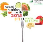 National Nutrition Month / March is all about nutrition!  Read on for how dietitians promote nutrition all month & year long!