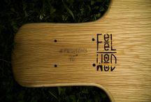 FeelWood Boards / longboards y skates de construcción propia