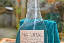 Household Natural cleanets