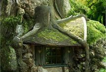 Tree houses  / by Sapphire Moonbeam