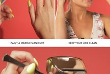 Beauty tricks and ideas