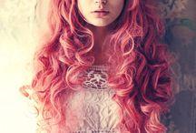 Colorful hair / by Megan McIntyre