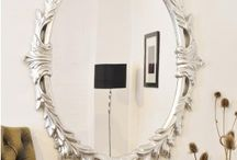 OVAL MIRRORS / There is no need to cut corners when it comes to bringing the most elaborate of finishes to your home décor. You have certainly made the right choice to view a beautiful Oval shaped mirror finished to a high quality with a scrolled leaf, highly decorative, frame in gold, black and white.  Choose the gold for a more traditional antique feel, or the black or white for a cool, contemporary look. Suitable for any room in your home, but would look fantastic in an entrance hall.