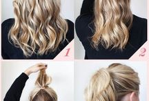 ****Cute hair styles for Work...!!!****