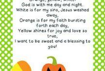 Preschool Fall/Thanksgiving Ideas