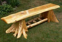 costruire con i tronchi