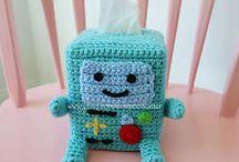 box Kleenex crochet