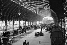 ∆ Train station /