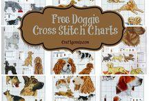 Free dog cross stitch patterns