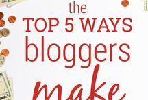 Blogging Tips / Tips to making money while blogging