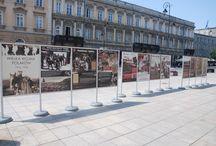 """Wystawa """"Wielka Wojna Polaków 1914-1918"""" / 28 lipca 2014 r., Krakowskie Przedmieście w Warszawie"""
