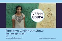 Veena Udupa / art and craft expert from India