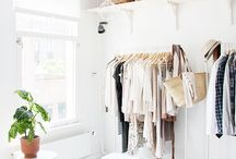 makeshift closets