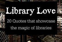 I <3 books / kirjat, kirjastot, kirjahyllyt