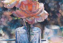 Art: Jeannie Vodden, watercolorist