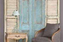 Louvre Doors / Many beautiful ways to use old louvre doors