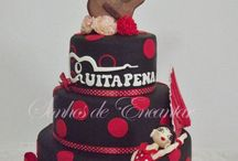 Flamenco Cakes / Now these are my kind of cakes!