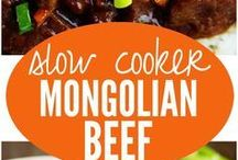 Mexican And Mongolian Recipes