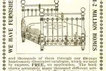 Old bed & sleep advertising