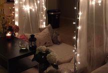 Hipster yatak odaları