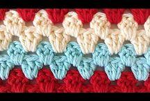 granny  rows - stitch  repeat