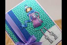 cards-Stamping Bella