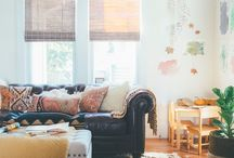 Fall Home Tours / Ideas and inspiration for decorating your home for Fall / Gorgeous Fall Home Tours / Fall Home Inspiration