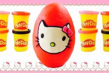 Play Doh Giant Eggs