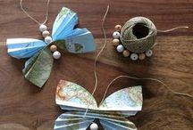 Schmetterling Papier