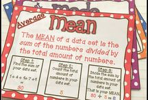 Data handling / Mean mode and median