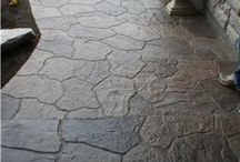 Stamped Concrete / Stamped Concrete and exterior paving ideas