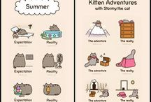 Pusheen / Pusheen Cat to słodki kotek