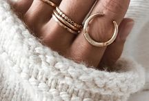 Rings / #rings #accesories #tiny #nice #silver #gold #hand accessory
