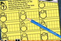 Math - tens frames activities / tens frames (10's frame) and twenties frame (20's frame) activities for number recognition - games, activities, center and whole class work
