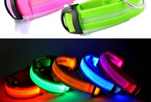 Nylon Pet Dog Collar LED Light Night