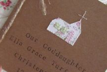cards christening