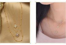 ネックレスコーディネート / necklace coordinate