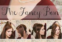 Bridal party hair  / For Clare / by Jillian Floyd