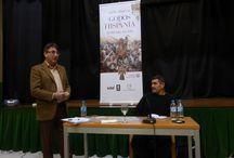 León Ársenal Mater Class y Presentación: GODOS DE HISPANIA / Centro Imaginalia 23/11/13